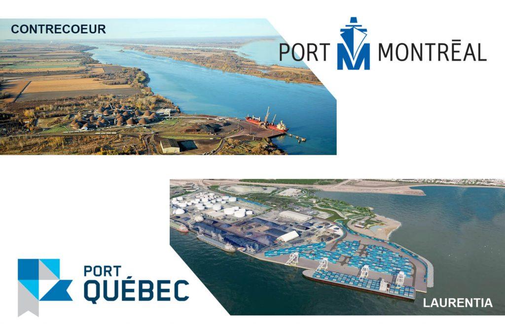 Article de blogue: Des expansions portuaires sur le fleuve st-Laurent